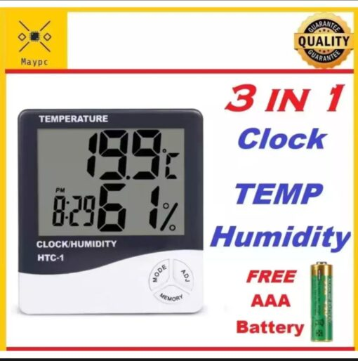 temperature clock