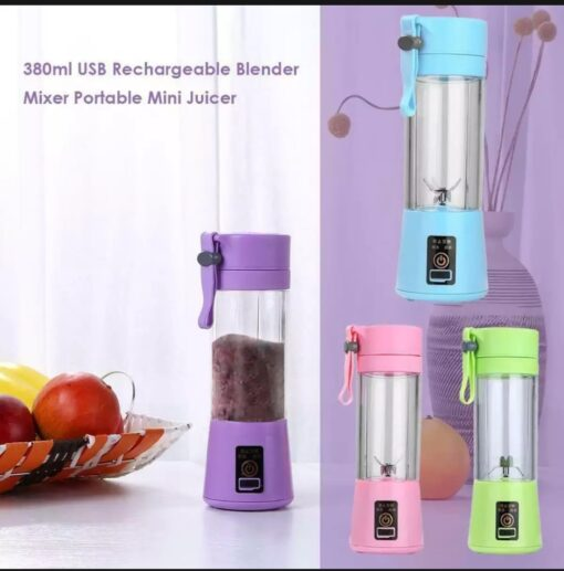 Rechargeable Juicer..