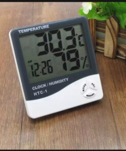Temperature Alarm Clock Humidity