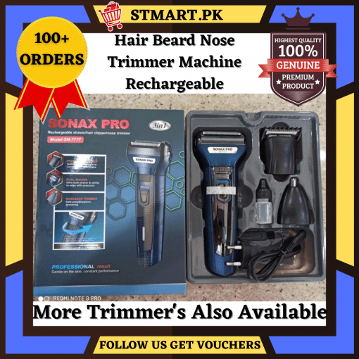 Beard Hair Nose Trimmer Machine