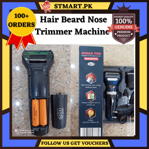 Nose Hair Trimmer Machine