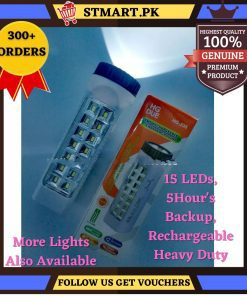 Rechargeable Emergency Torch Light