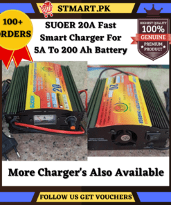 Suoer 20 Ampere Automatic Charger