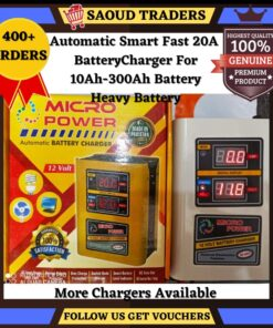 20Ameper fast digital display batterycharger