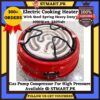 cooling stove burner