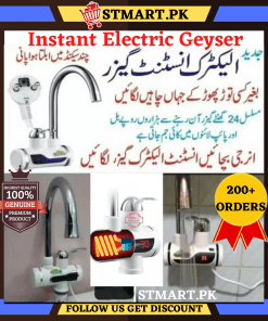 Instant Electric Water Heater Tab Water Geyser Boiler Boiling Heating Bath Gyser Smart Fast Automatic Digital Energy Saving Geyser Tanker
