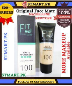 Fitme Face Foundation Matte Finish Face Makeup Foundation Whiting Glow Foundation For Girls Womens Price in Pakistan