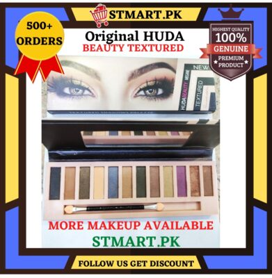 Original Textured EyeShadow Palette Kit Matte Blending Brush Beauty 12 Colours Matt Eye Shadows With Brush Shimmer Branded Pallets Big Affordable EyeShadow price in Pakistan