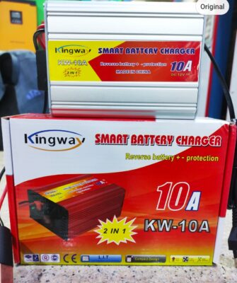 10A Car Battery Charger Automatic Fast Smart Original Branded Battery Charger Can Run Fan Cooler 10Ampere 12V DC Price in Pakistan.