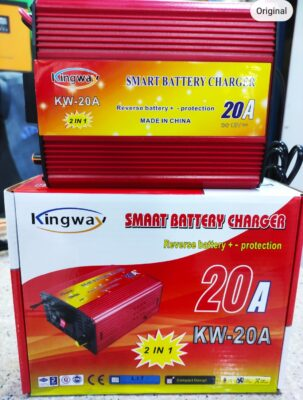 10A Car Battery Charger Automatic Fast Smart Original Branded Battery Charger Can Run Fan Cooler 10Ampere 12V DC Price in Pakistan.,