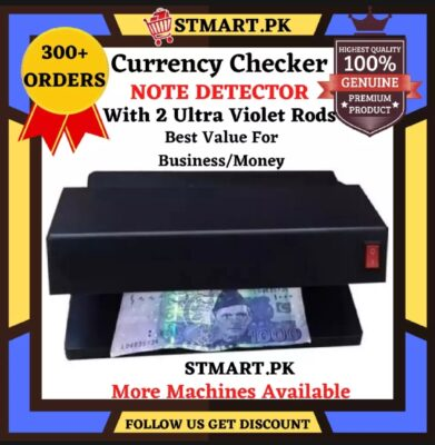 Currency Note Checker Machine TESTING Machine Automatic Price in Pakistan