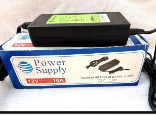 Supply Adapter 10A 12V Fan AirCooler Pump Supply Charger Converter Price in Pakistan..